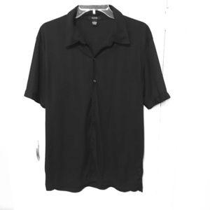 Alfani Casual Short Sleeve Men's L